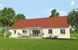 Maison 3 chambres Chatenoy Le Royal en Saone et Loire