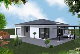 Villa contemporaine et terrain sur Viré