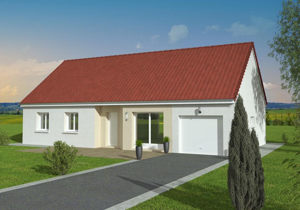 maison 2 pans Saône et Loire